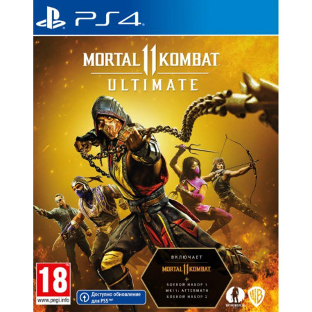 Mortal Kombat 11 Ultimate Edition [Blu-Ray диск] (PS4)